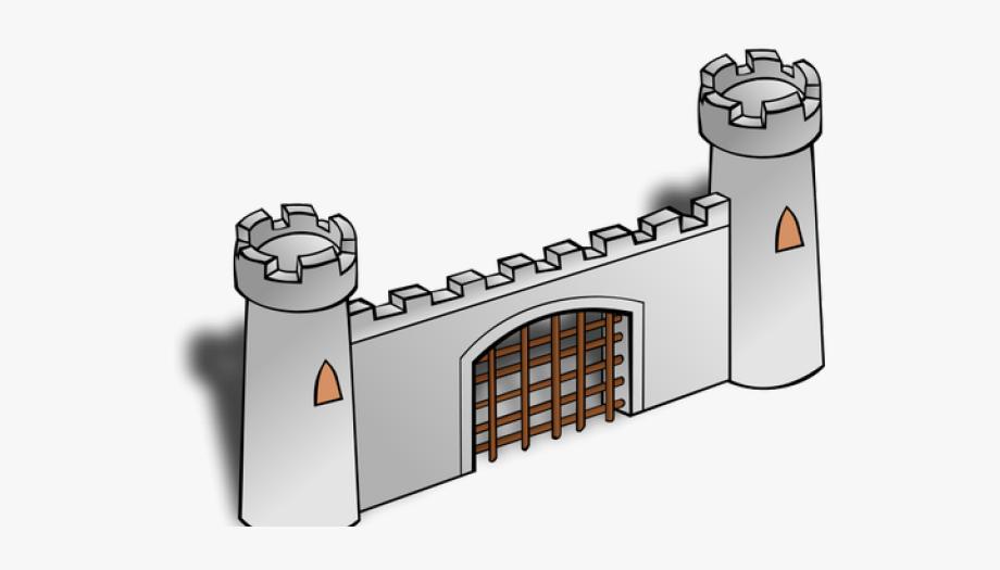 Mansion gates clip art. Gate clipart castle gate