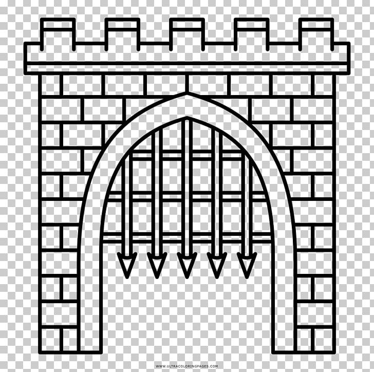 Gate clipart castle gate. Arch drawing door png
