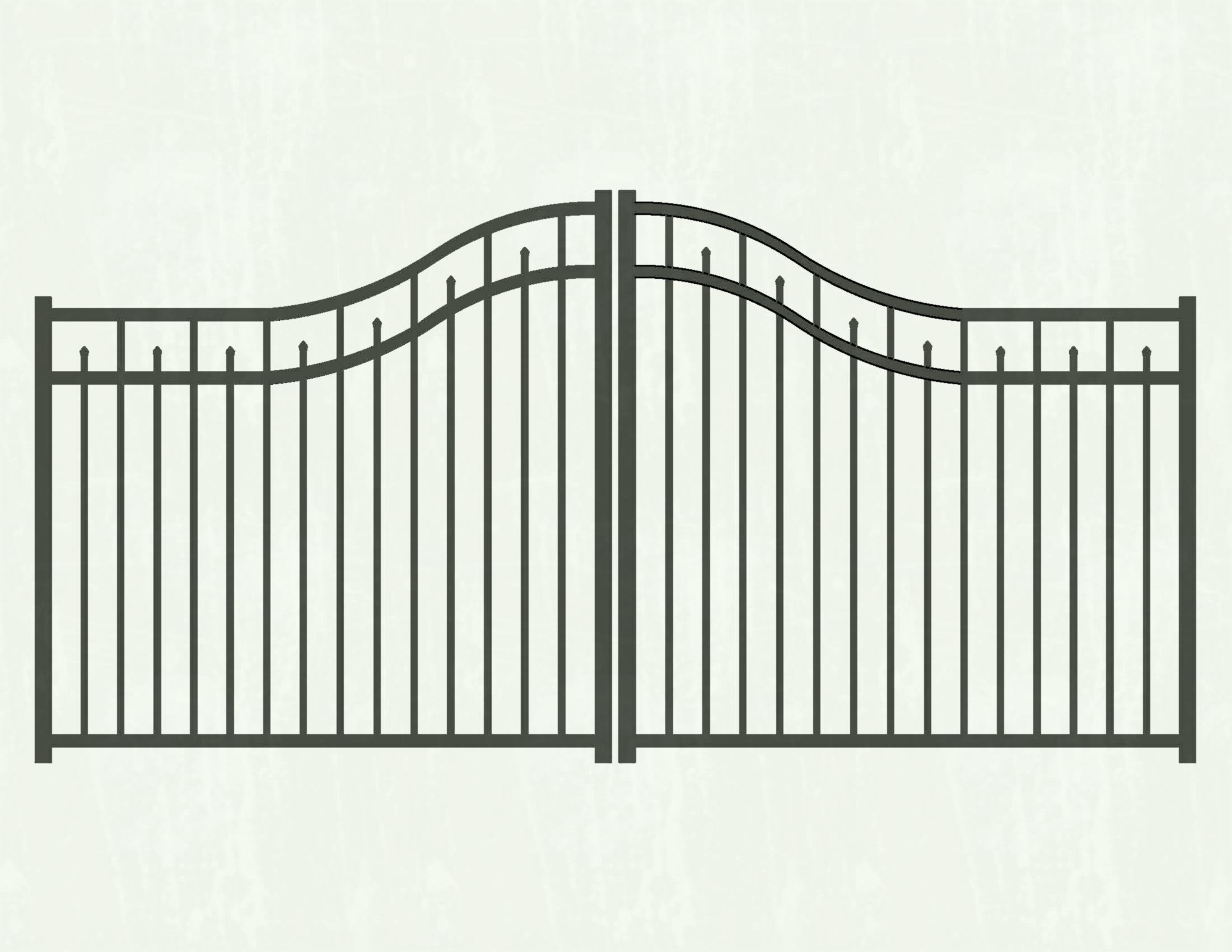 Free download clip art. Gate clipart coloring page