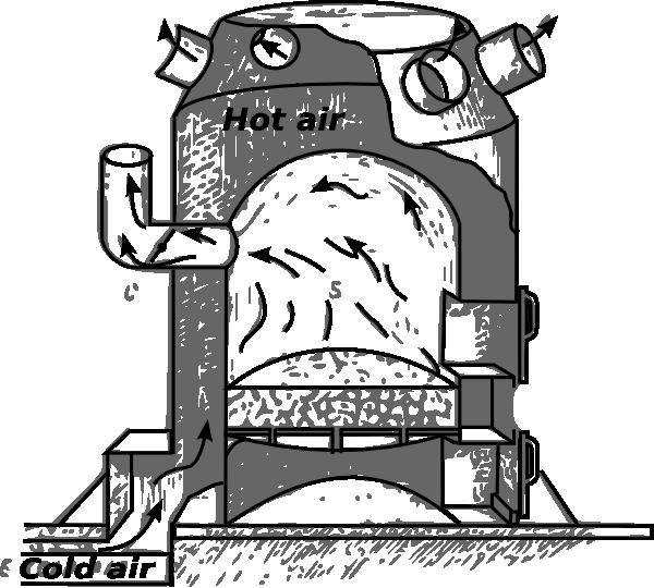 Furnace clip art at. Weight clipart metal