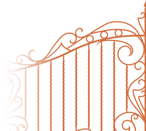 Images gallery for free. Gate clipart dream garden