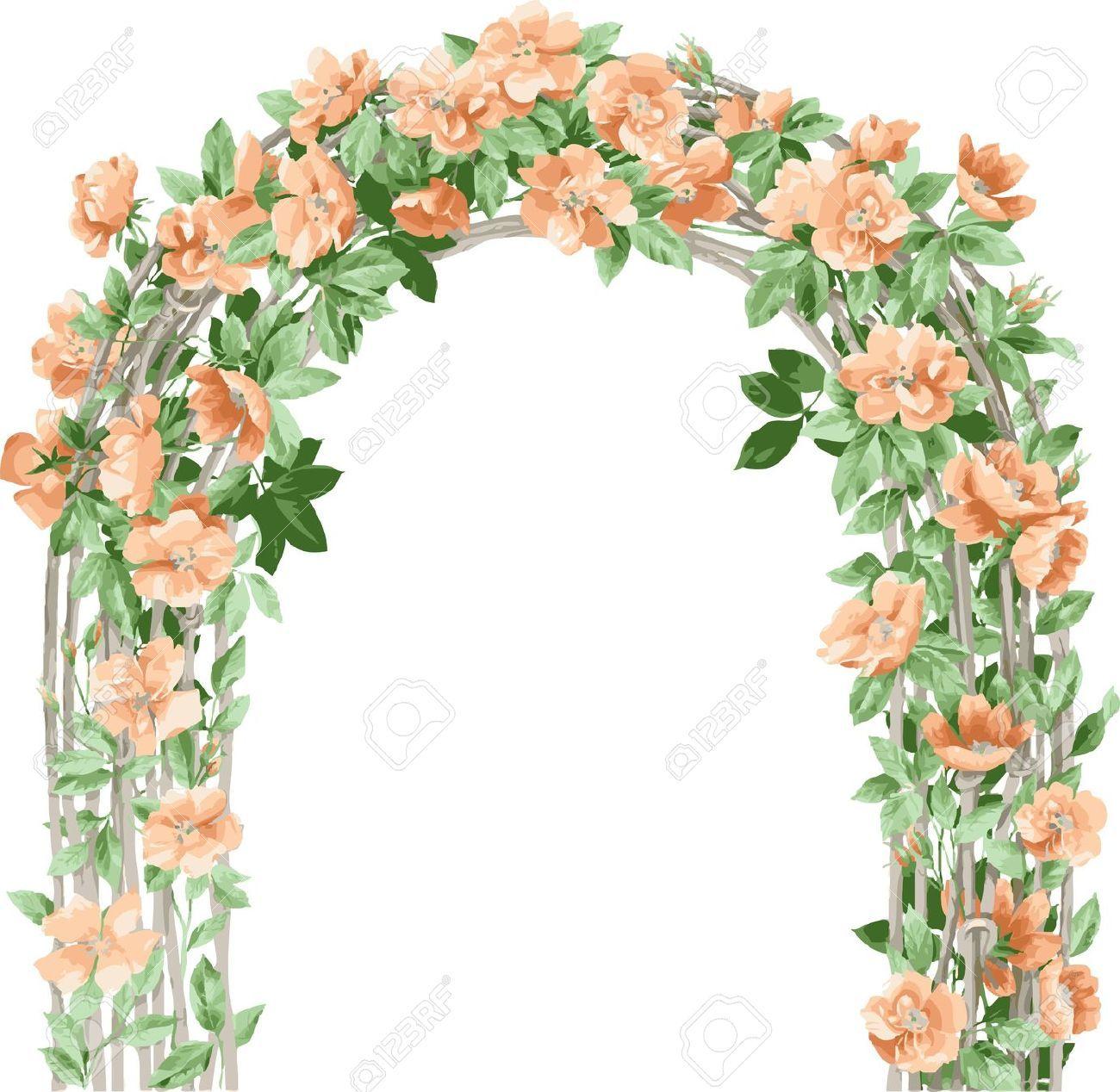 Gate clipart flower. Clip art arts for