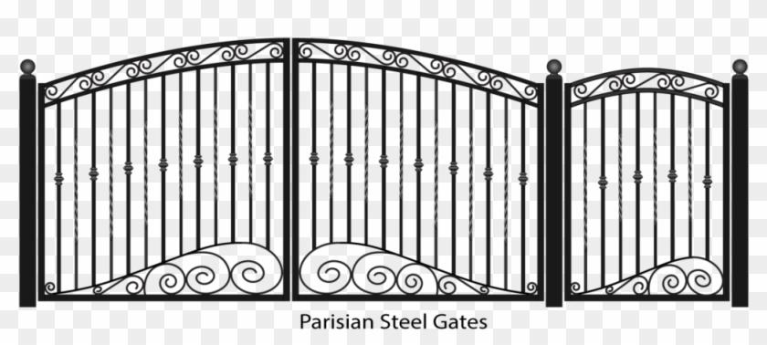 Gate clipart front gate. Fancy png transparent