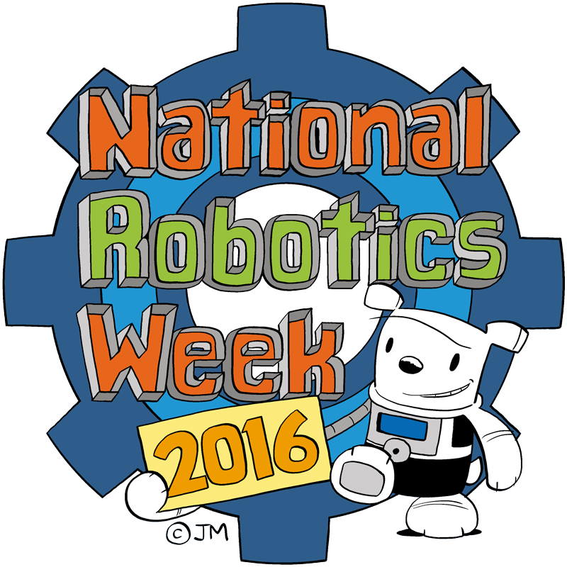 Gate clipart garden club. Celebrating national robotics week