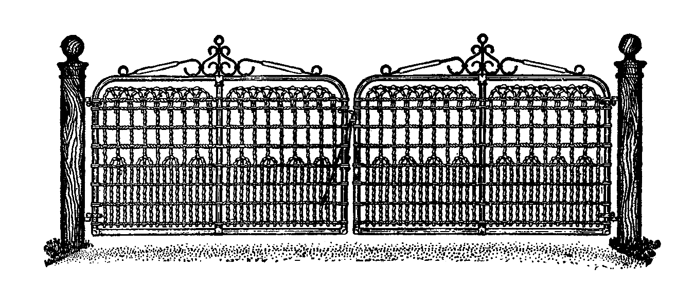 Gate clipart gateway. Png images transparent free
