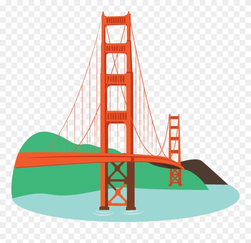 Image of bridges golden. Gate clipart gold gate