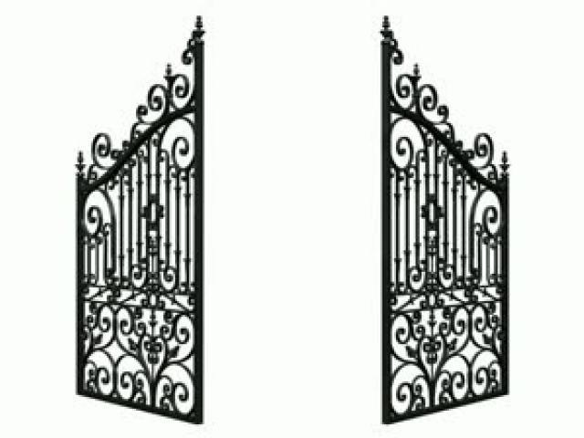 Free download clip art. Gate clipart graveyard