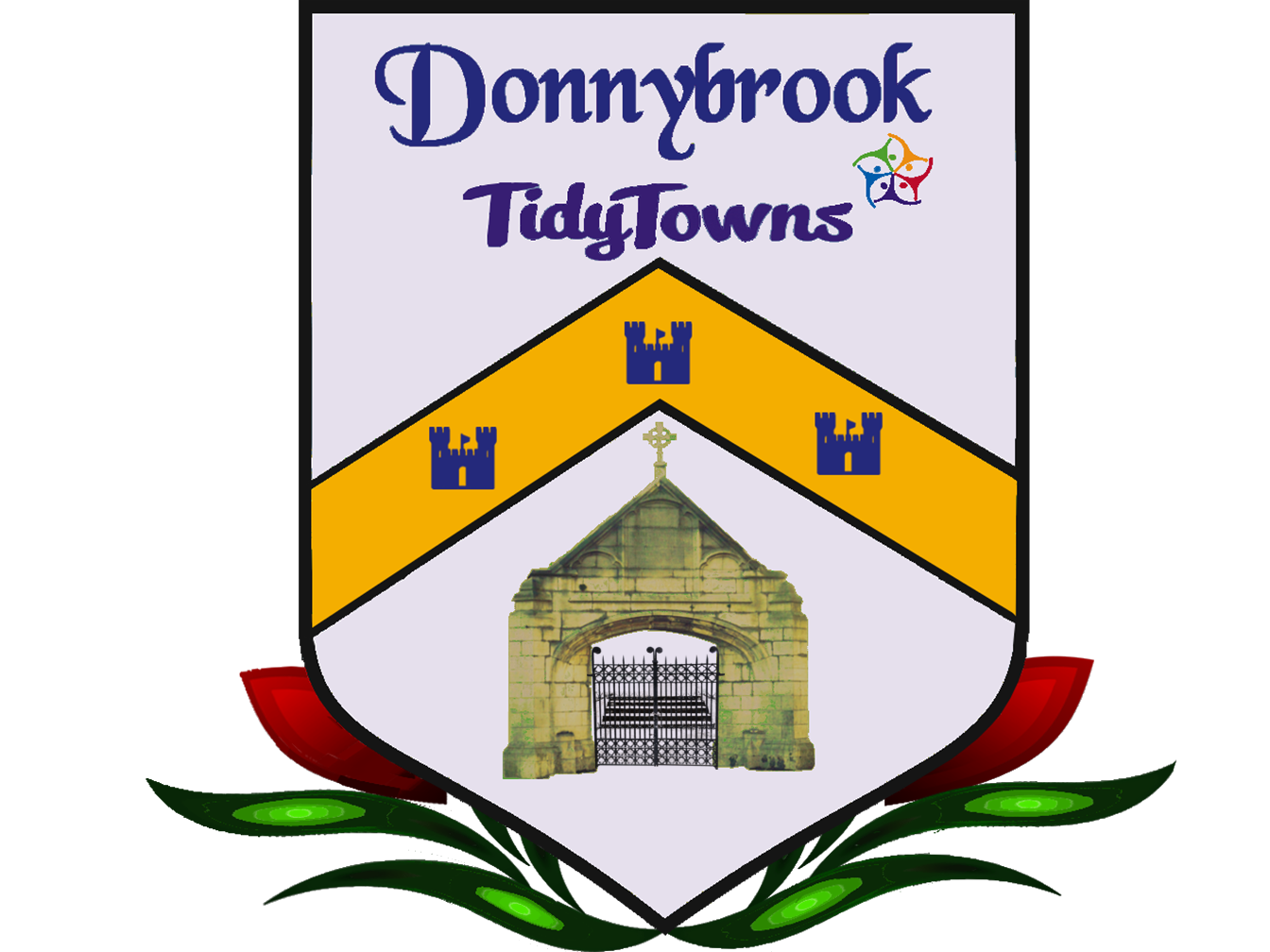 Donnybrook tidy towns souls. Gate clipart graveyard