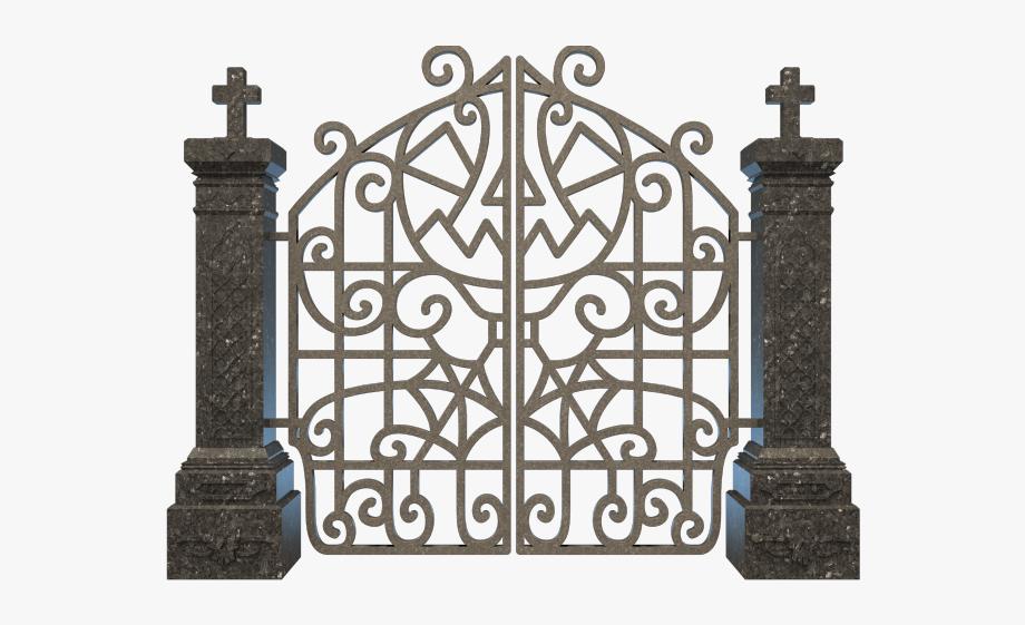 Gravestone png cliparts . Gate clipart graveyard