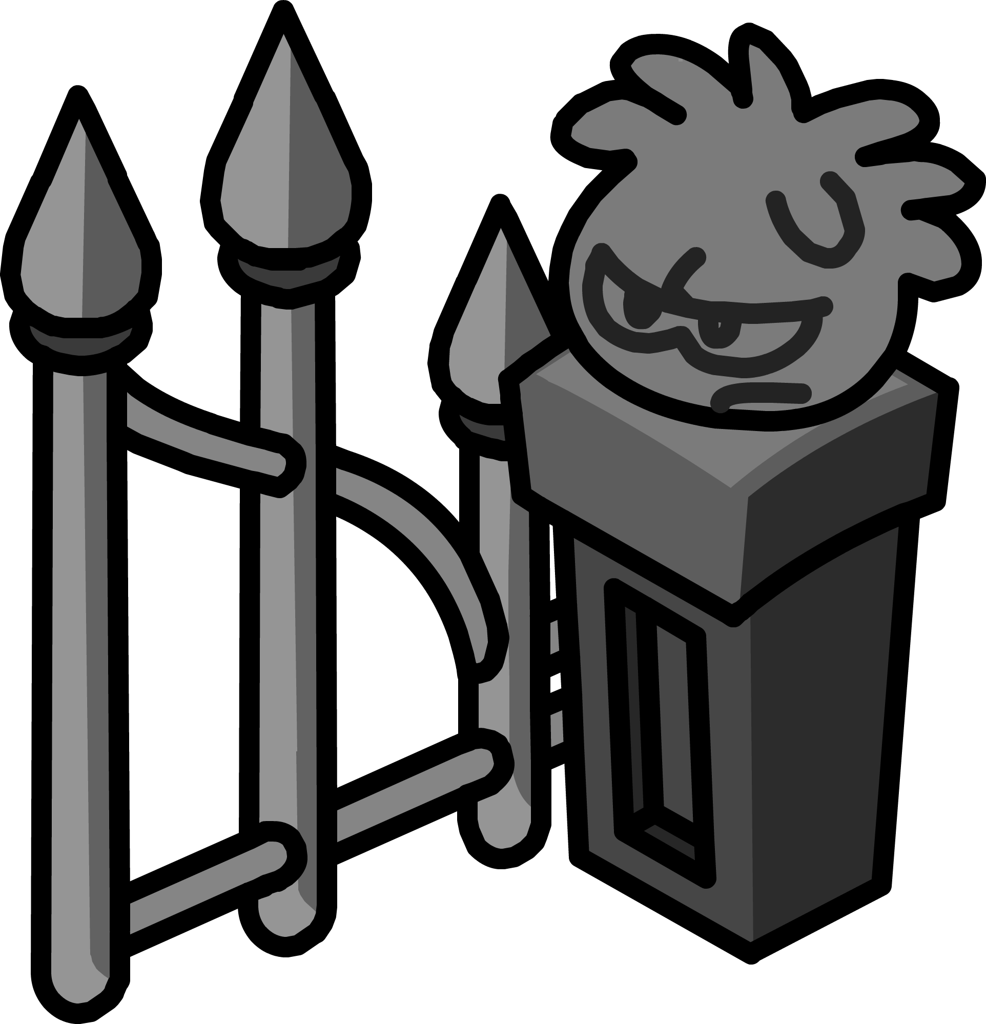 Gate clipart graveyard. Image icon png club