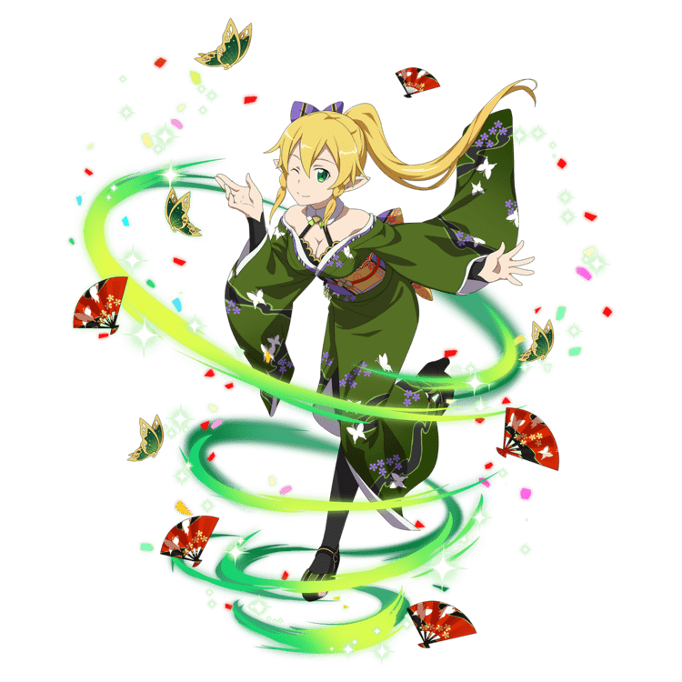 Realization of Big Wishes] Leafa | Sword Art Online | Pinterest ...