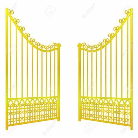 Gate clipart heavenly. Free haven heaven s