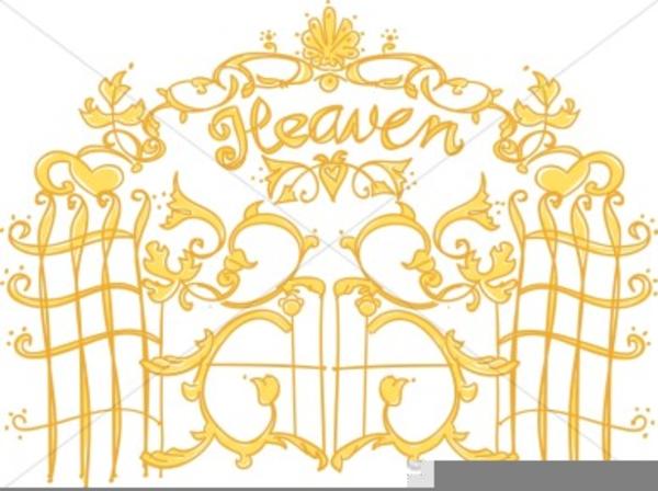 Heavens gates cliparts making. Gate clipart heavenly