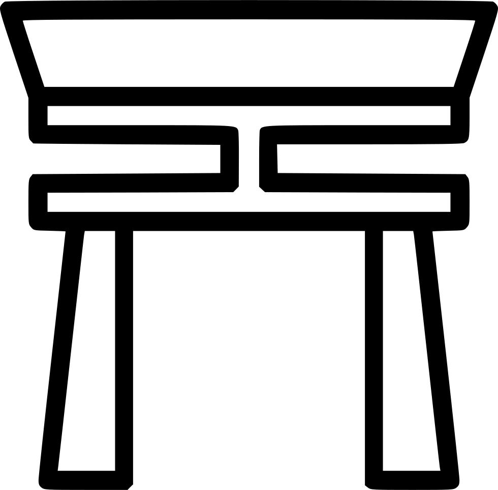 Gate clipart heaven's gate. Entrance altar heaven god