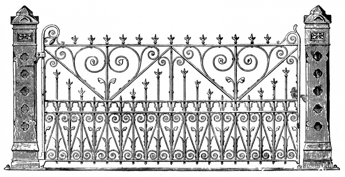 Free in cliparts download. Gate clipart house gate