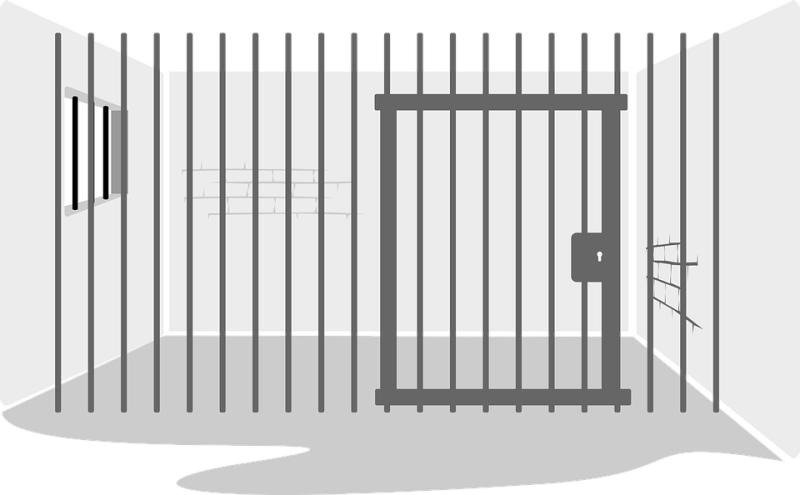 Acca ajta nijo work. Gate clipart jail
