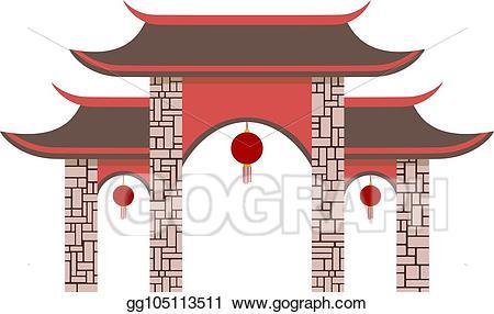 China x free clip. Gate clipart main gate