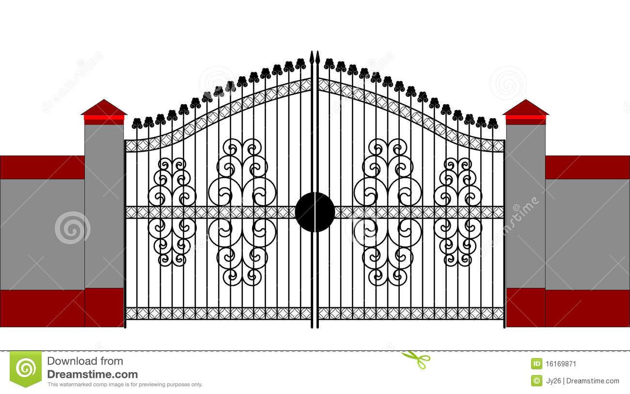 Clip art images panda. Gate clipart main gate