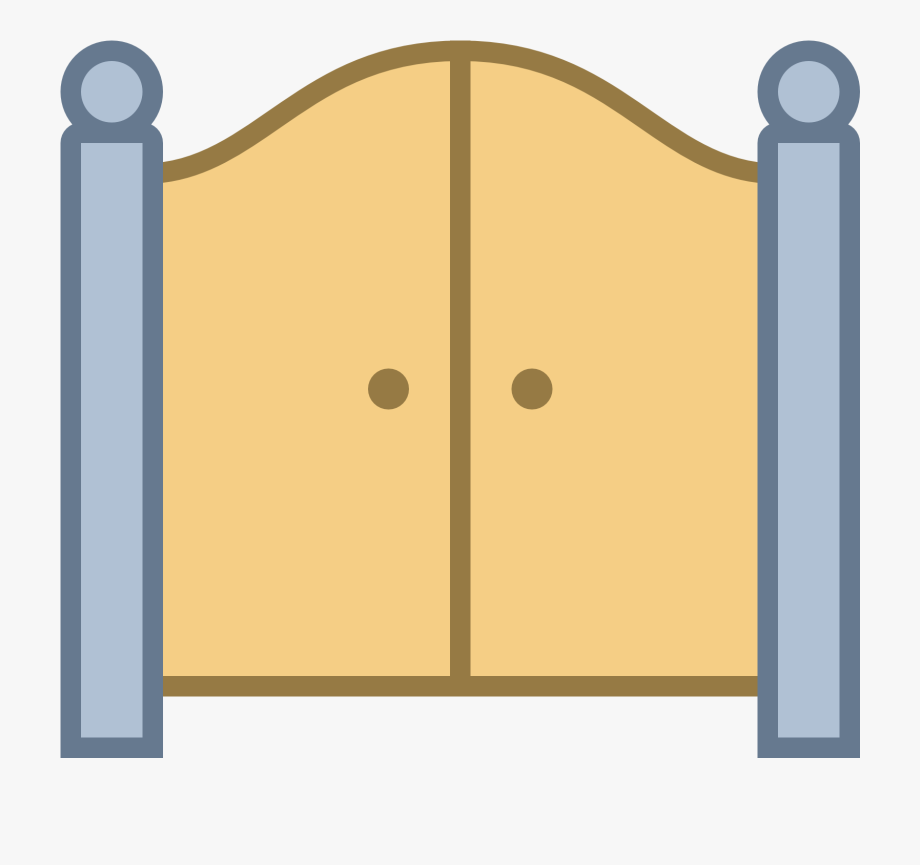 Door front free cliparts. Gate clipart main gate