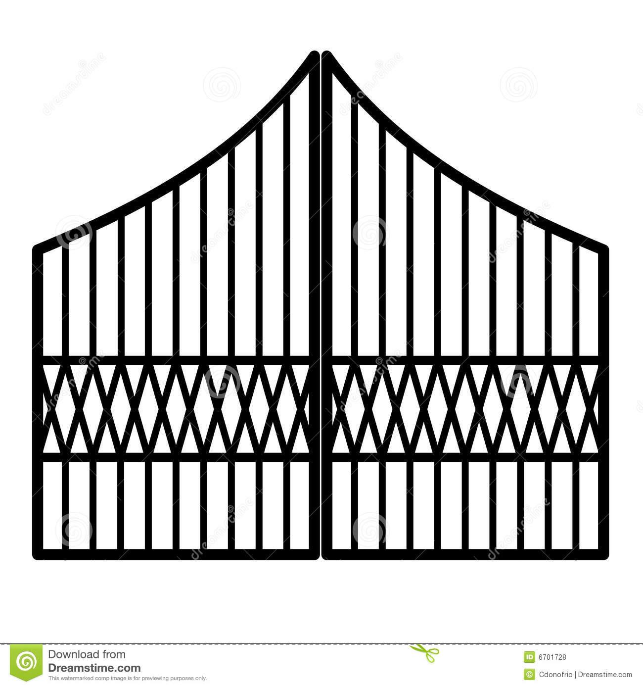 Gate clipart matel. Panda free images