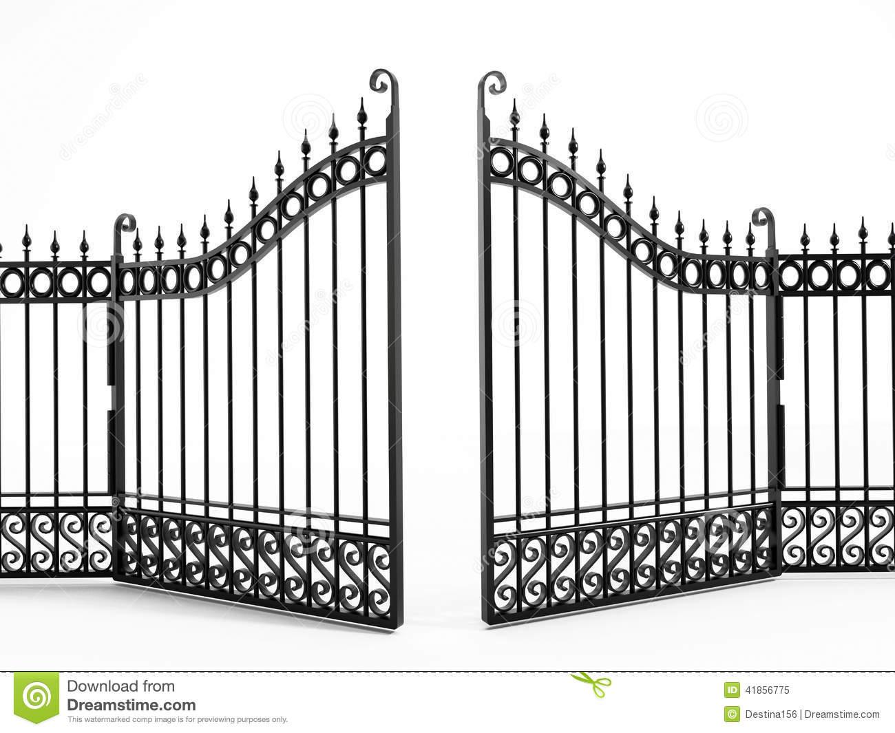 Gate clipart matel. Clip art images panda