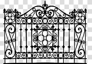 Metal texture mapping slip. Gate clipart matel