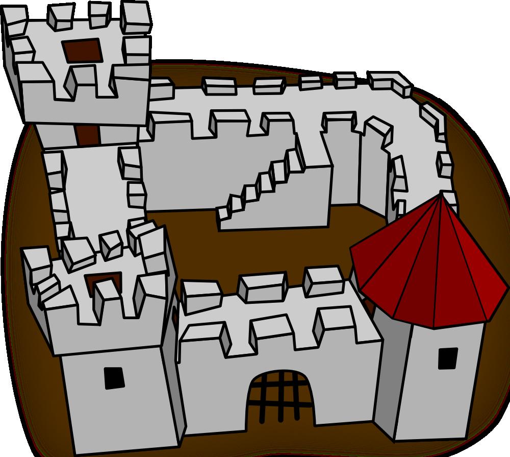 Gate clipart medieval door. Onlinelabels clip art ugly