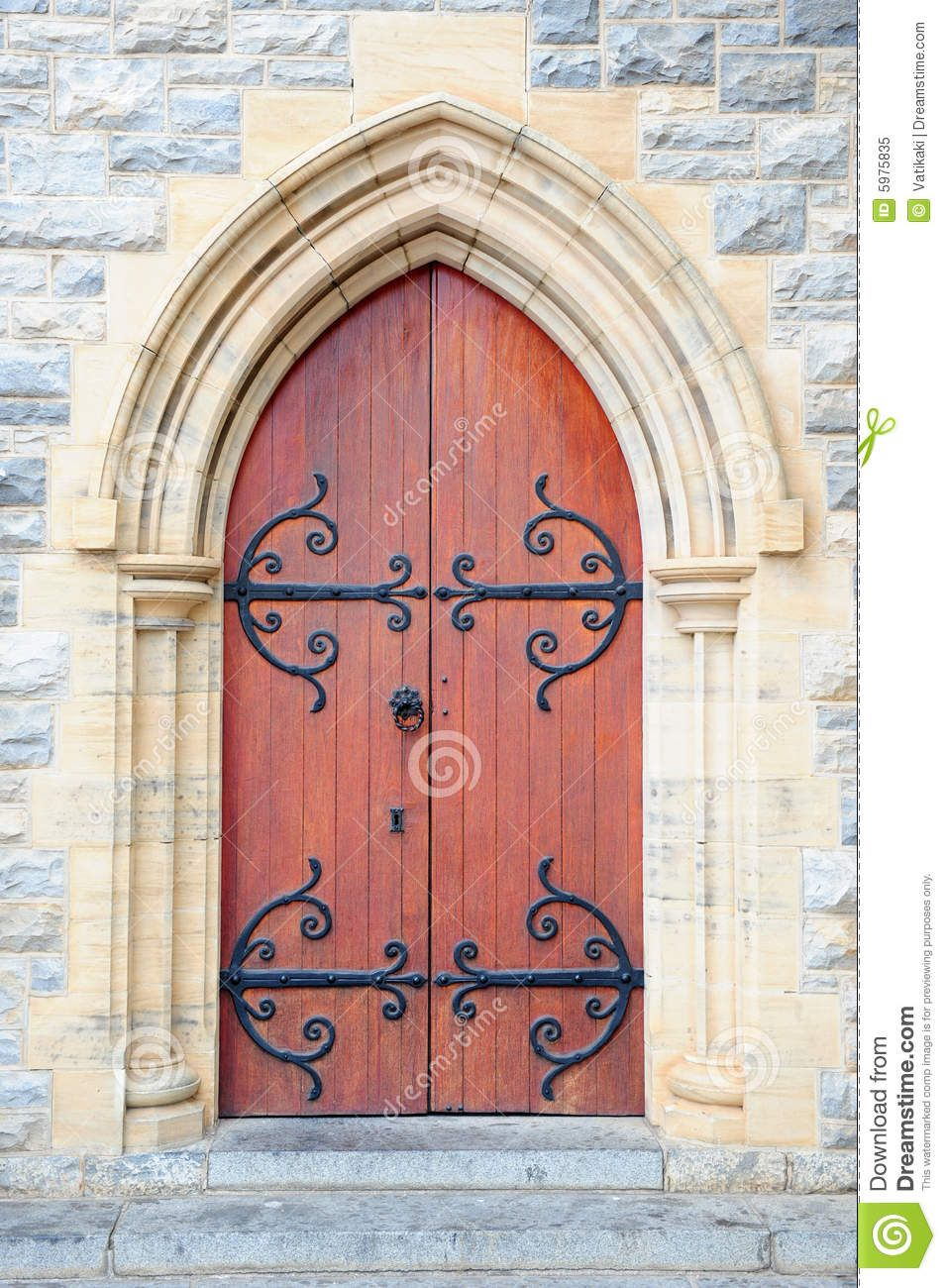 Gate clipart medieval door. Church clipartfest doors and