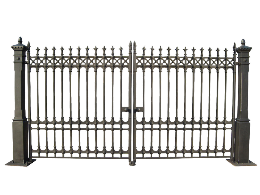 Gates png by camelfobia. Gate clipart metal gate