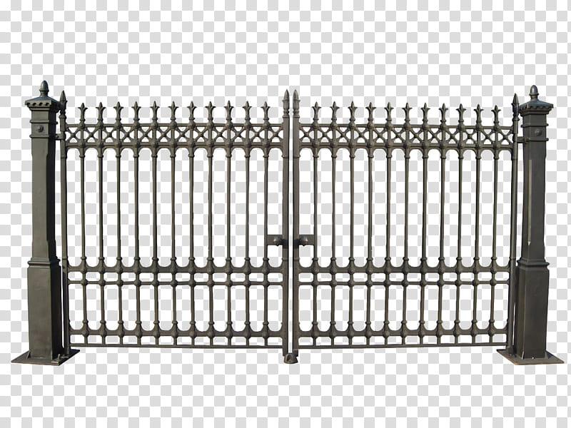 Gate clipart metallic. Gates closed gray metal