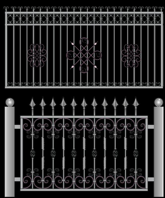 gate clipart metallic #109303111