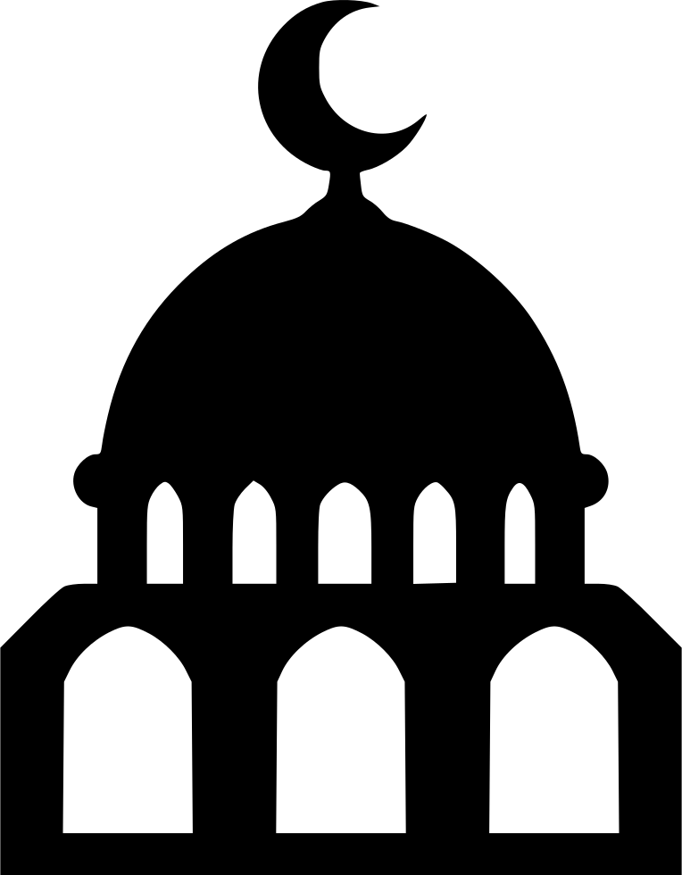 Gate clipart mosque. Svg png icon free