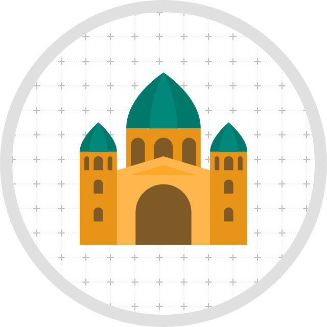 The hunt is on. Gate clipart mosque
