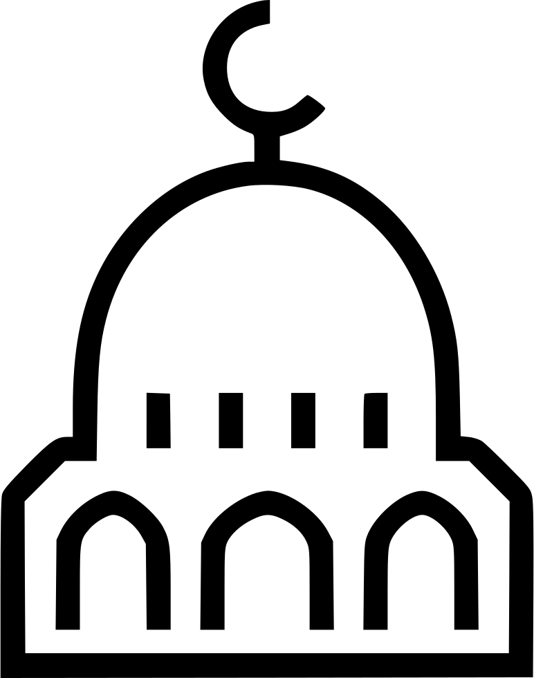 Svg png icon free. Gate clipart mosque