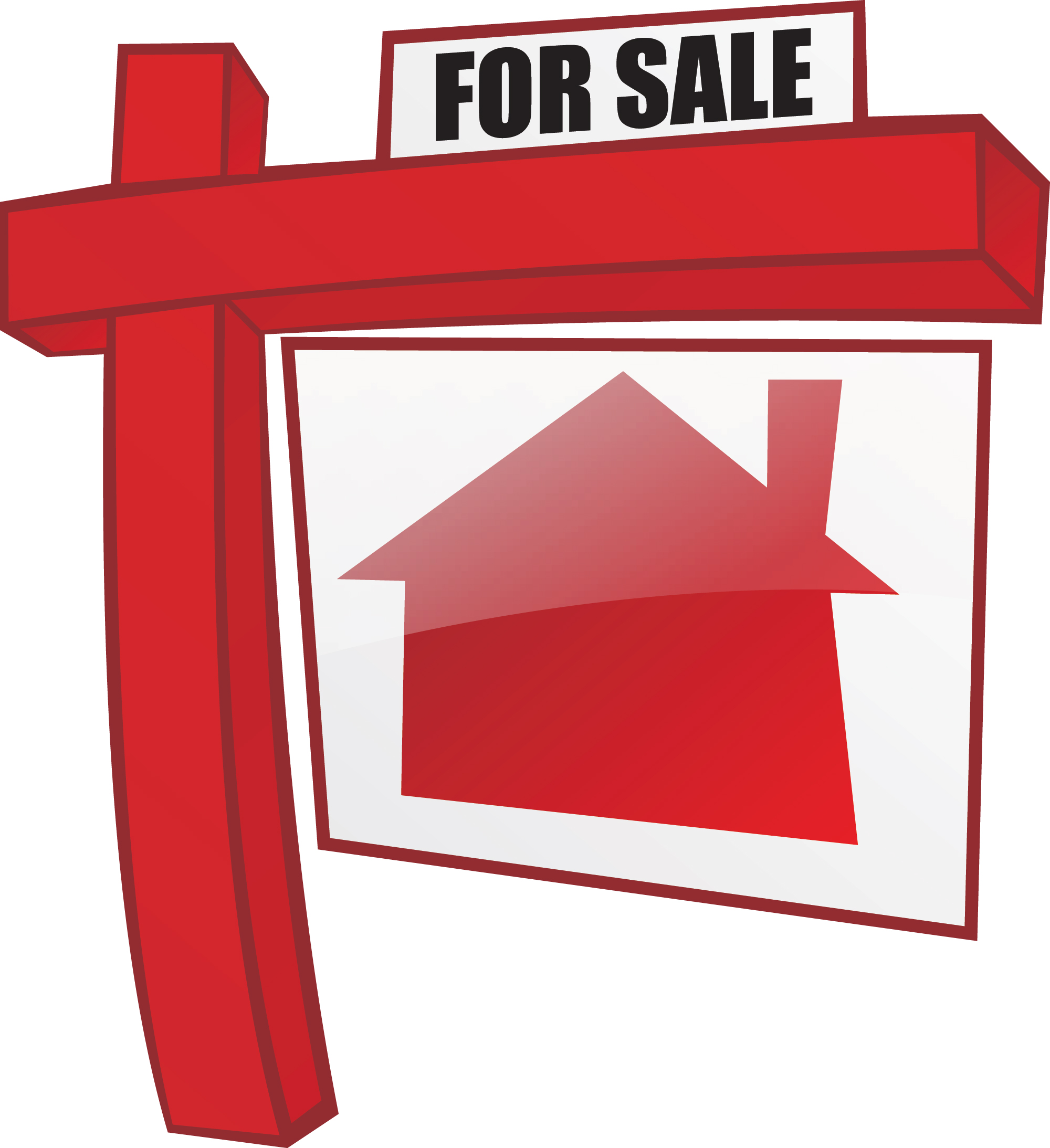 Best house for sale. Gate clipart new home