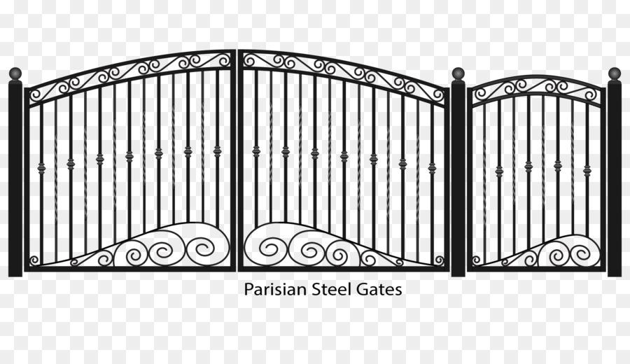 Gate clipart new home. Cartoon fence transparent clip