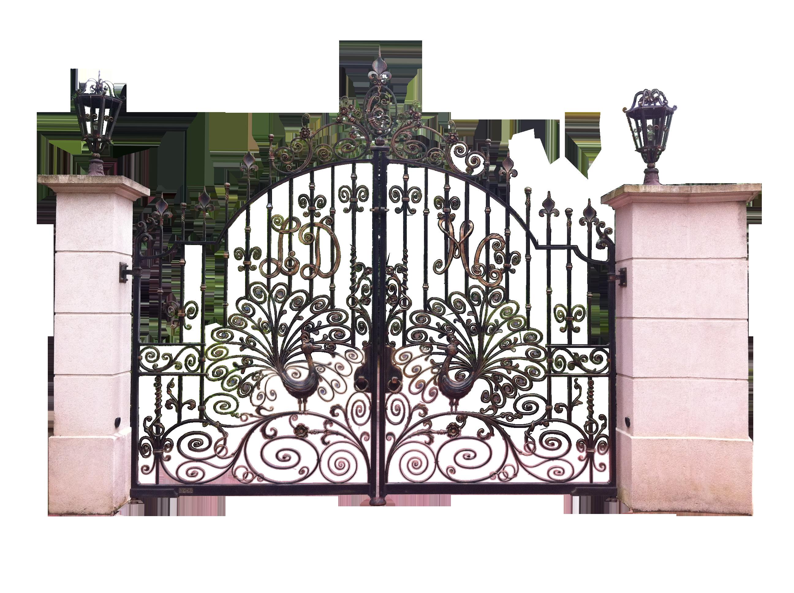 Gate clipart old gate. Logic clip art european