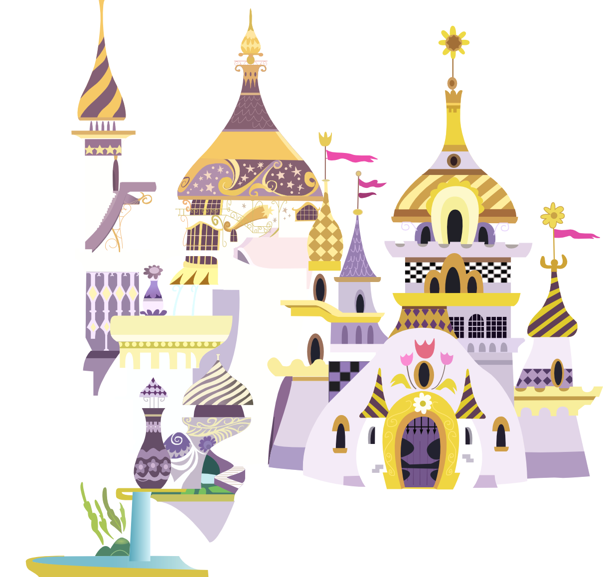 Canterlot palace favourites by