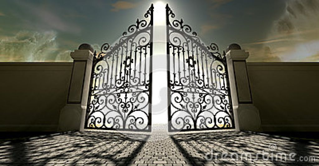 Of heavens open ornate. Heaven clipart pearly gates