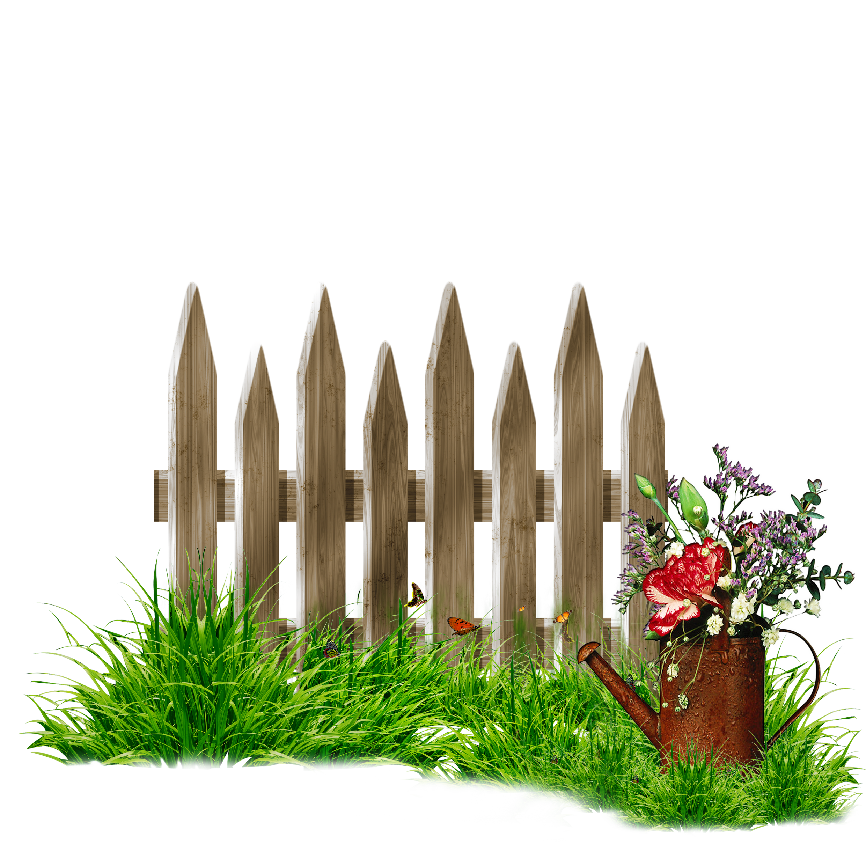 Fence garden lawn clip. Gate clipart plant grass