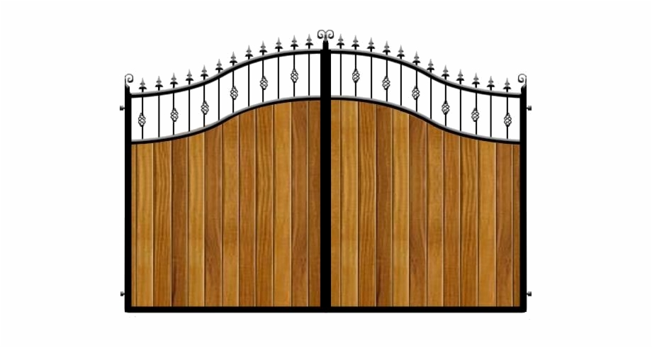 Gate clipart royal gate. How to infill metal