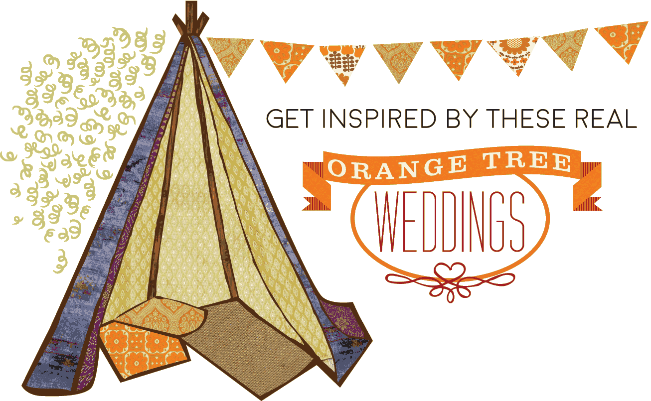 Gate clipart secret garden. Orange tree weddings wedding
