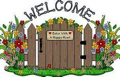 best clip art. Gate clipart sensory garden