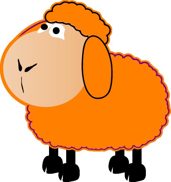 Clipart sheep orange. The nz frozen slog