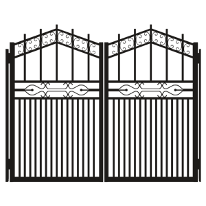 Gate clipart silhouette. Iron cliparts of
