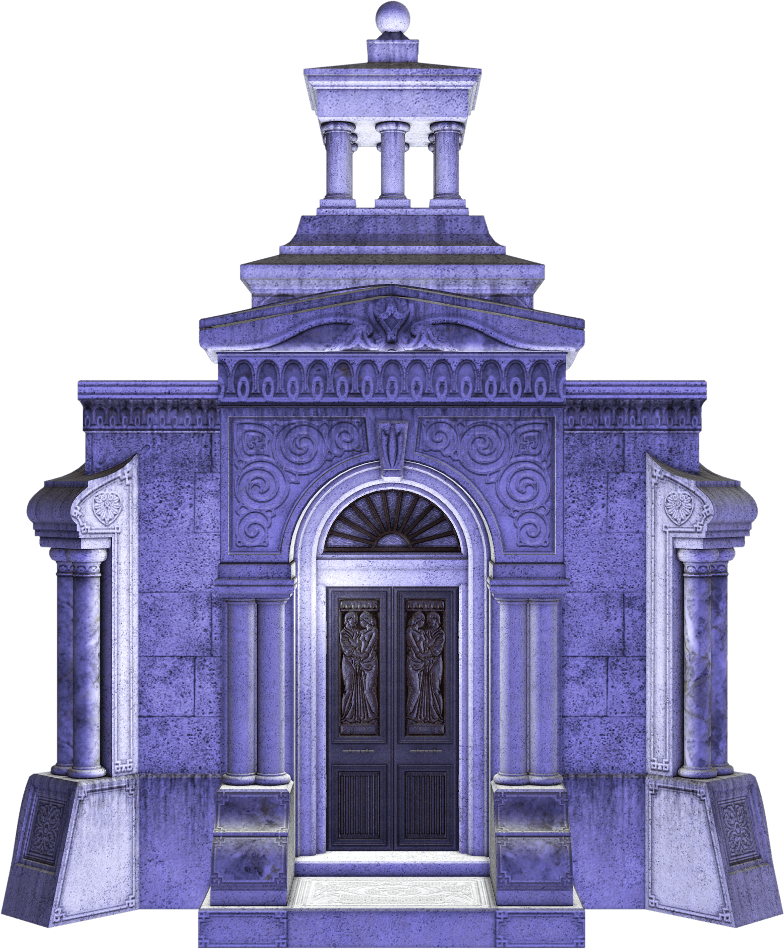Gate clipart spooky. Mausoleum stock image halloween