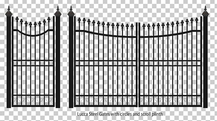 Fence wrought iron png. Gate clipart steel gate