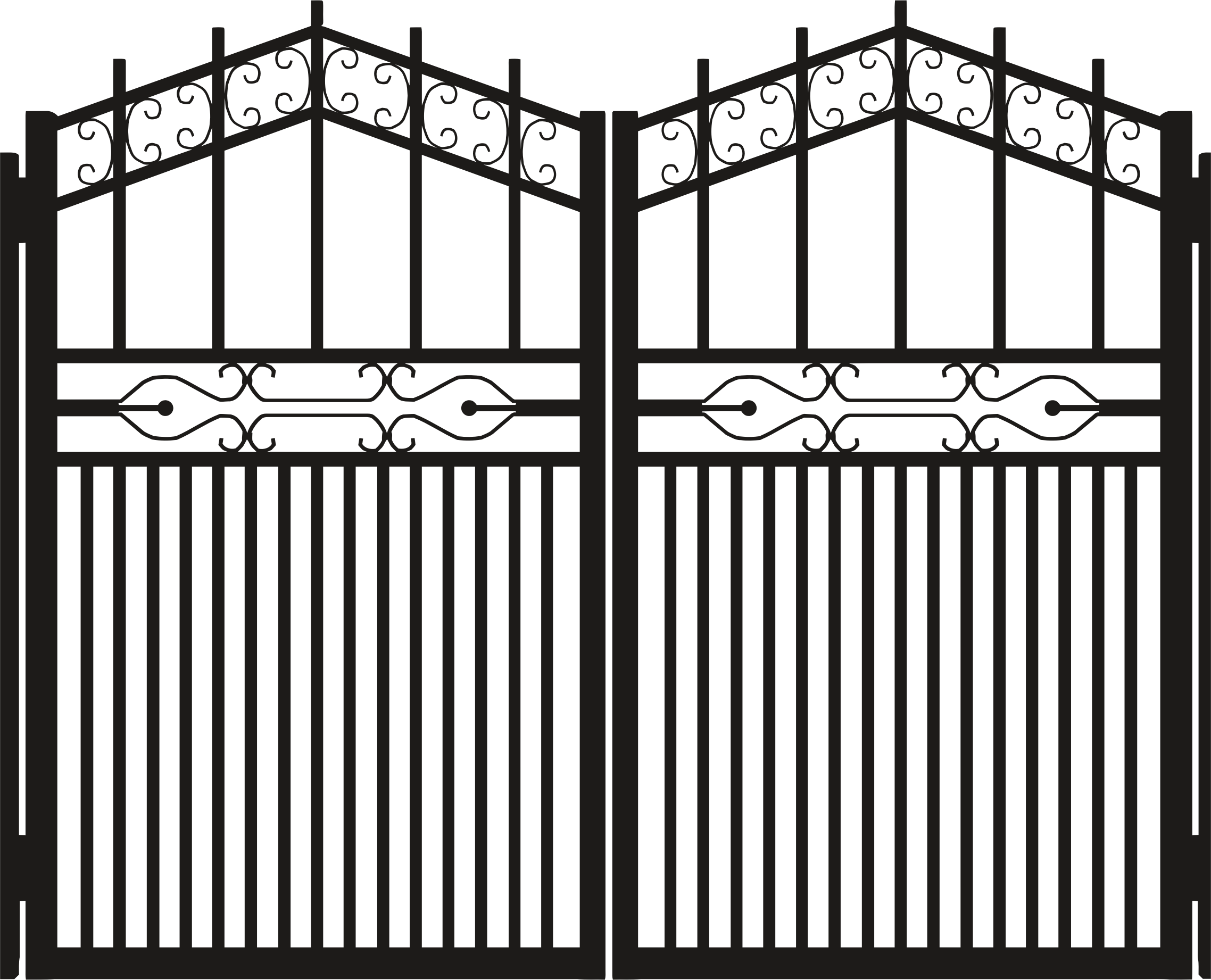 gate clipart transparent background #109293275