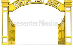 Portal . Gate clipart welcome gate