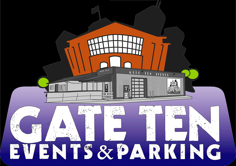 Parking lot clipart question. Gate ten events west